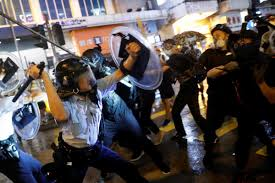 HK violence